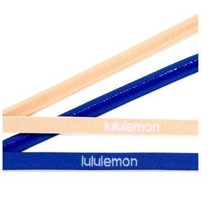 2 Lululemon Get in Line Headbands *2 Pack